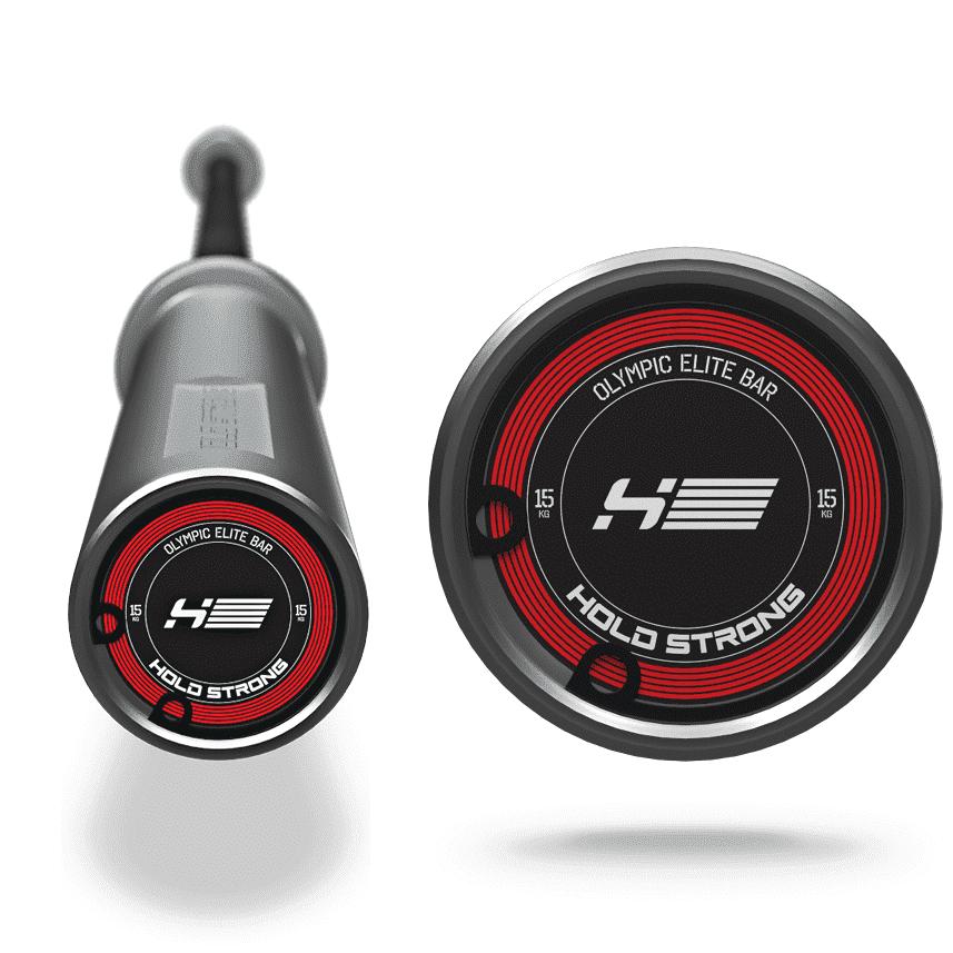 HOLD STRONG Olympic Elite Bar | 槓鈴槓片健身器材推薦 | Fitness Nook健諾克專業訓練器材館 | 專業推薦規劃